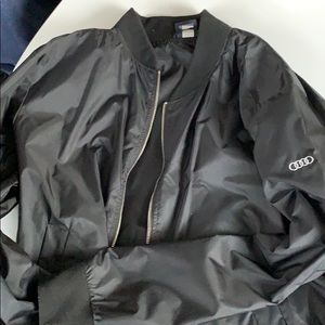 Audi branded flight jacket